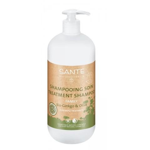 Champú tratante ginkgo & oliva de 500ml (Sante)