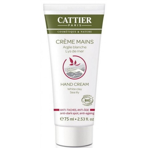 Cattier-Crema de manos Antimanchas