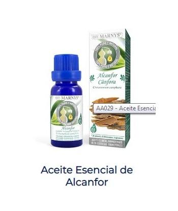 Alcanfor Aceite Esencial Alimentario 15 ml (Marnys)