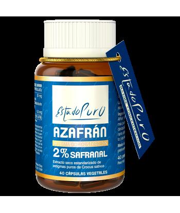 Azafran 2% Safranal 40cap. Estado Puro ( Tongil)