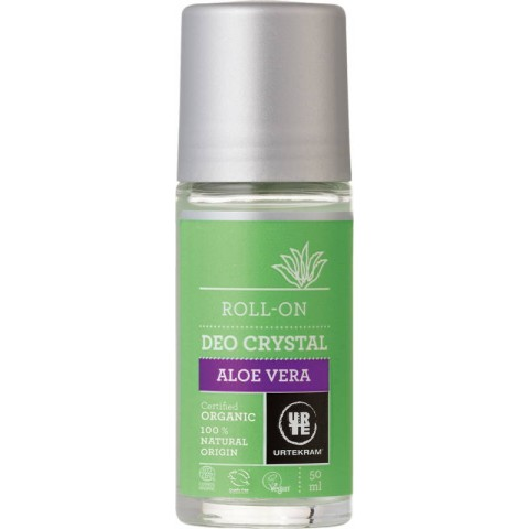 Urtekram-Desodorante Aloe Deo Crystal Roll-on 50ml