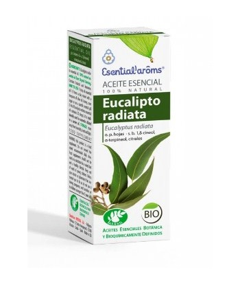 Eucalipto Radiata Aceite Esencial 10ml (Esential Aroms)