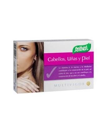 Multivigor Cabello, Uñas y Piel 48 comprimidos (Santiveri)