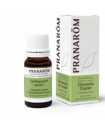 Citronela Ceylan Aceite Esencial 10ml (Pranarom)