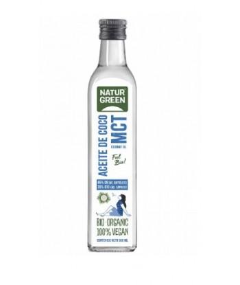 Aceite de Coco MCT 500 ml Bio (Naturgreen)