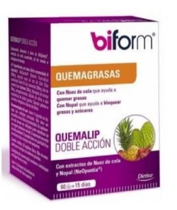 Biform Quemalip 60 Cápsulas (Dietisa)