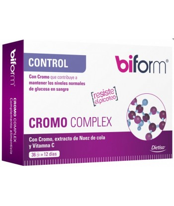 Biform Cromo Control 36 Cápsulas (Dietisa)