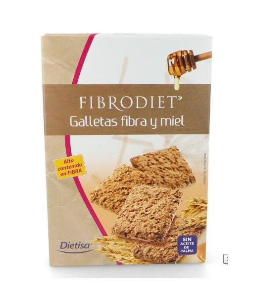 Galleta de Fibra y Miel Fibrodiet 400 gramos (Dietisa)