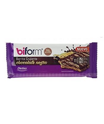 Barrita Crujiente de Chocolate Negro (Biform)