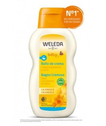 Baño de Crema Caléndula 200ml Bebés (Weleda)