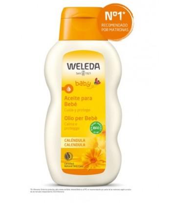 Aceite de Caléndula para Bebé 200ml (Weleda)