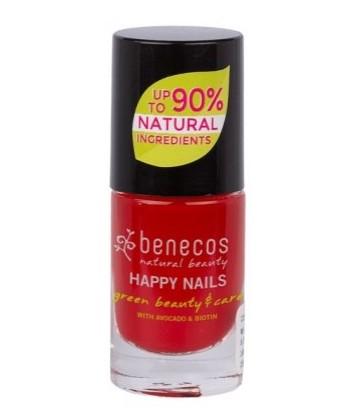 Esmalte de Uñas Vintage Red 5ml (Benecos)