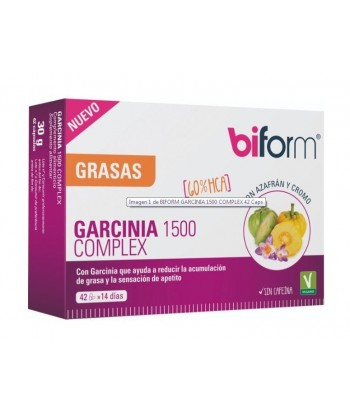 Biform Garcinia Complex 1500 42 Cápsulas (Dietisa)