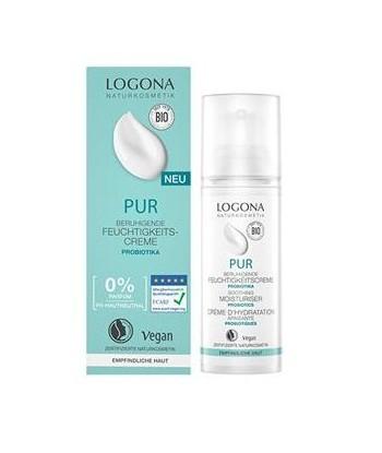 Crema Facial Hidratante Sin Perfume PUR 50ml (Logona)