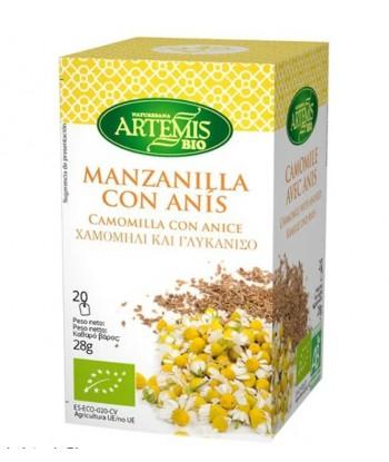 Manzanilla con Anís Filtros Bio (Artemis)