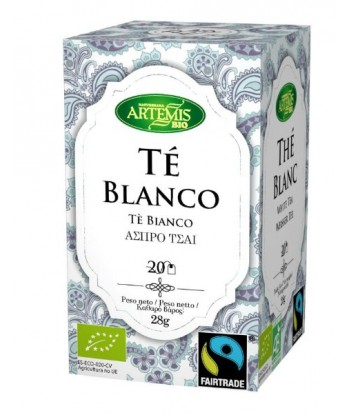 Te Blanco 20 Filtros Bio (Artemis)
