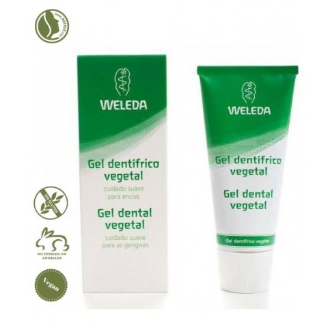 Dentífrico Vegetal Gel Weleda