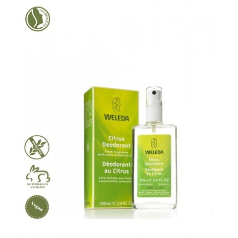 Desodorante Citrus Spray Weleda