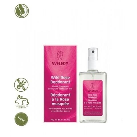 Desodorante Rosa Spray Weleda