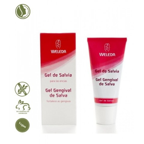 Gel Bucal Salvia Weleda