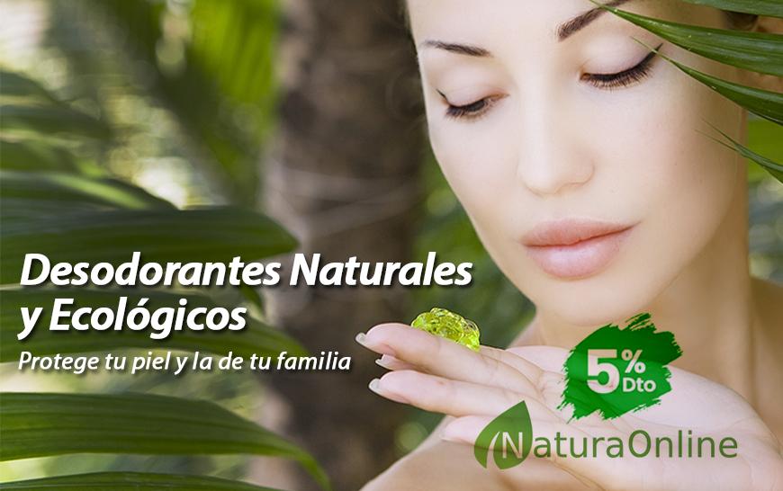 Desodorantes naturales y ecologicos